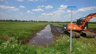 Graafwerkzaamheden bij Overtoom-Middelveen