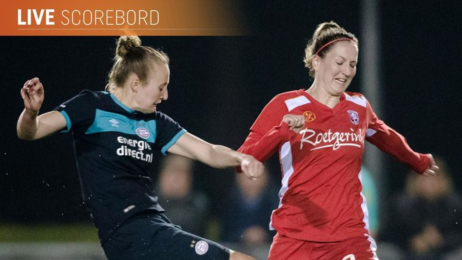 Live: FC Twente Vrouwen tegen PSV en PEC Zwolle bij Heerenveen