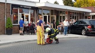 Brandweer draait gaskraan dicht