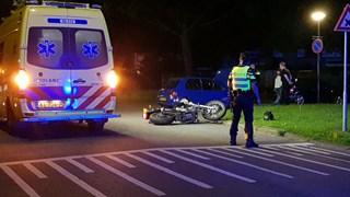 Motorongeval in Enschede
