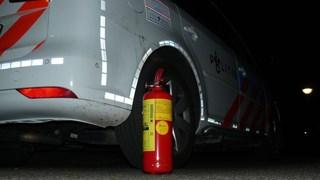 Auto uitgebrand in Almelo, oorzaak nog onbekend