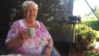 Op de koffie bij de moeder van Gerrit Wermink