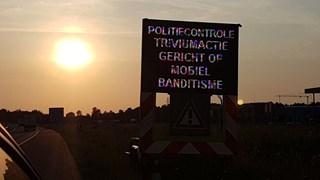 Verkeerscontrole op A1 bij Hengelo