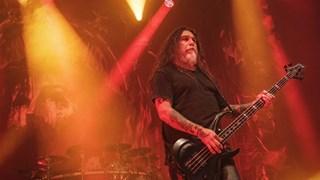 Tom Araya, frontman van de metalband Slayer