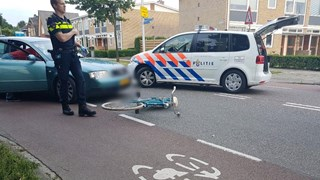 Fietsster gewond bij aanrijding in Hengelo