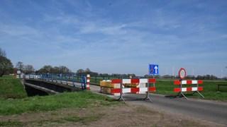 De afgesloten Kieftbrug