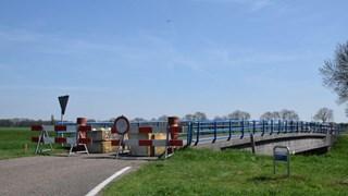 De afgesloten Beltmansbrug