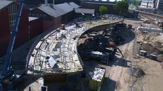 De Zwolse busbrug staat klaar