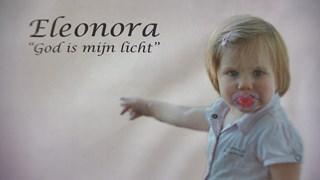 De letterlijke betekenis van de naam Eleonora 'God is mijn licht' stond op haar rouwkaartje