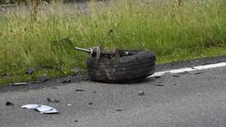N340 tussen Oudleusen en Ommen afgesloten na botsing twee personenauto