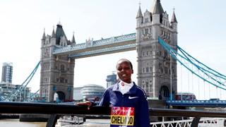 Chelimo werd vorig jaar in Londen wereldkampioen