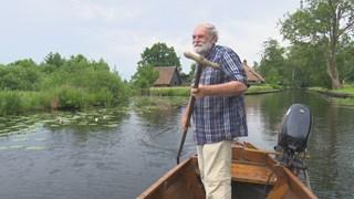 Ecoloog en schrijver Harm Piek uit Dwarsgracht