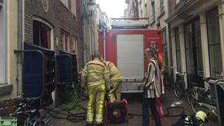Opmerkelijk brandincident in Deventer binnenstad