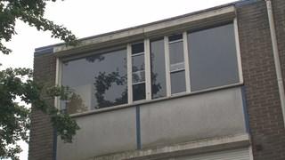 Leegstaande woning in wijk Stroinkslanden in Enschede