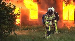 Woningbrand in Dedemsvaart
