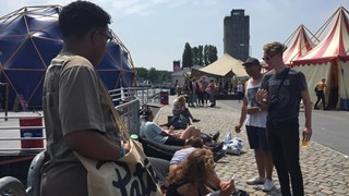 Kunstbaken Festival in het Deventer Havenkwartier