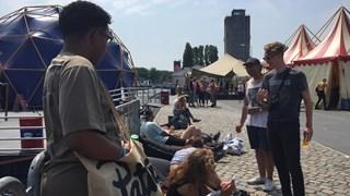 Kunstbaken Festival in het Deventer Havenkwartier