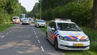 Politie bij het sportpark