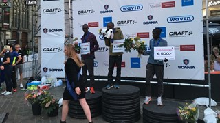 William Wanjiku wint in Zwolle