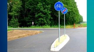 Het kortste stukje fietspad van Nederland is na week alweer opgedoekt