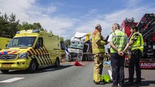 Ravage bij ongeluk op A12 Arnhem