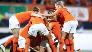 Belangrijke zege Oranjevrouwen