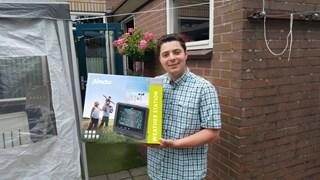 """Weerman Martijn uit Sibculo heeft weer een weerstation: """"deze keer zet ik hem op het dak"""""""