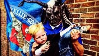 De Krampus, een horror-verschijning die onze eigen Zwarte Piet doet verbleken, komt in actie in Goor