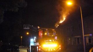 Uitslaande brand in woning in Almelo