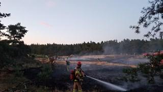 Natuurbrand in Dalfsen