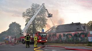 Opnieuw brand in voormalig café De Vrolijkheid Zwolle