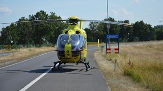 Traumahelikopter opgeroepen