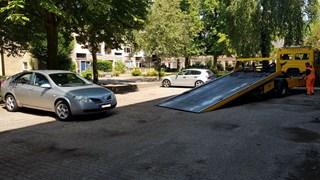 Gestolen auto teruggevonden