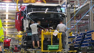 Productiehal Scania Zwolle