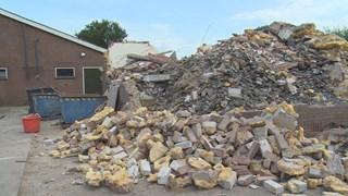 Van het purhuis resteert nu 250 ton chemisch afval