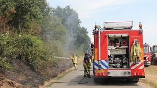 Natuurbrand in Deventer