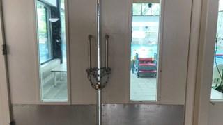 De deur in de Dorper Esch is symbolisch afgesloten