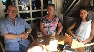 Adriaan en Betsie Brinkman zijn niet bang voor de hittegolf