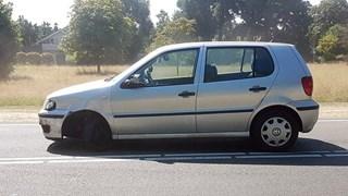 Een van de auto