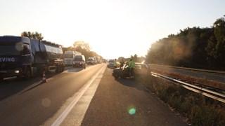 Ongeluk op de A1