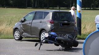 Motorrijder gewond N731