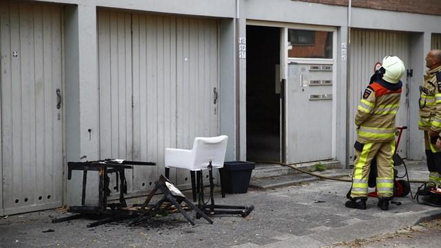 Brand gesticht in leegstaande flat in Zwolle - fotograaf: News United \\ Stefan Verkerk