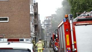 Brand in flat in Zwolle