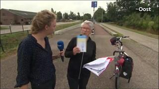 Even helemaal de weg kwijt bij Wierden