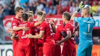 FC Twente viert de 2-1 van Tom Boere