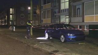 Auto ontploft aan de Fazantstraat in Enschede