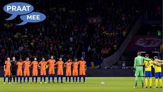 Praat mee: Het Nederlands Elftal had een minuut stilte moeten houden