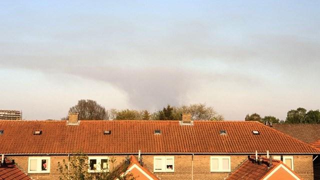 De rook is ook in Hengelo te zien - fotograaf: News United / Jack Huygens