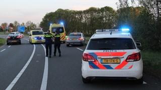 Ernstig ongeval met motorrijder op N350