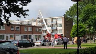 Brand in appartementencomplex in Enschede
